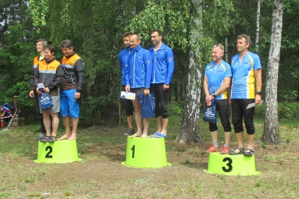 Bronzová štafeta H135 - Kulich, Pavel P. a Honza