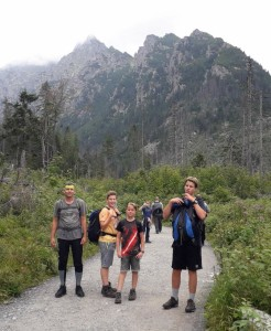 horská túra
